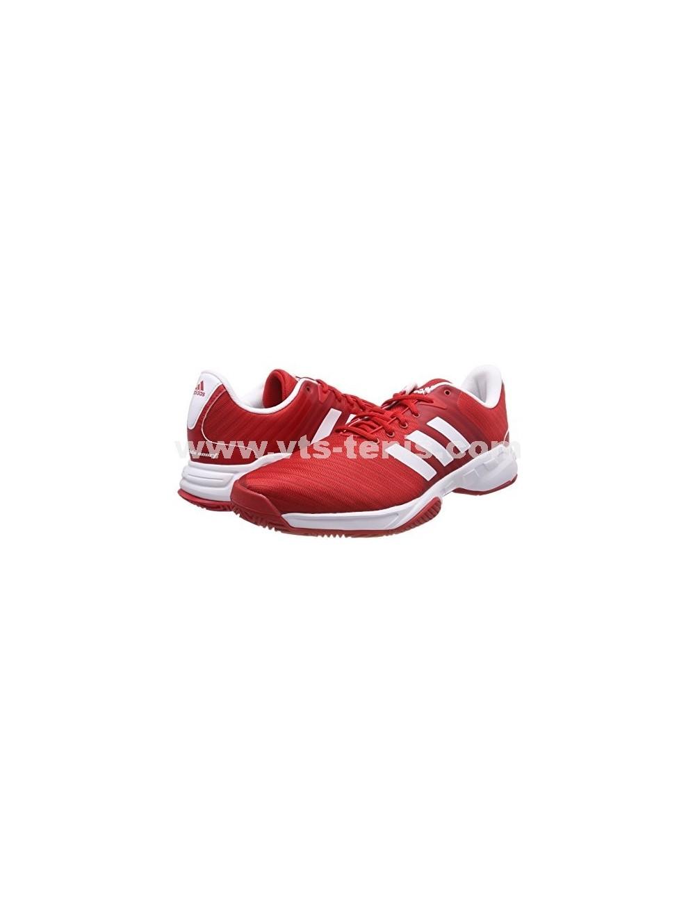 Zapatilla hombre Adidas barricade court 3 Colores combinados RojoBlanco Talla eur hombre 44.5