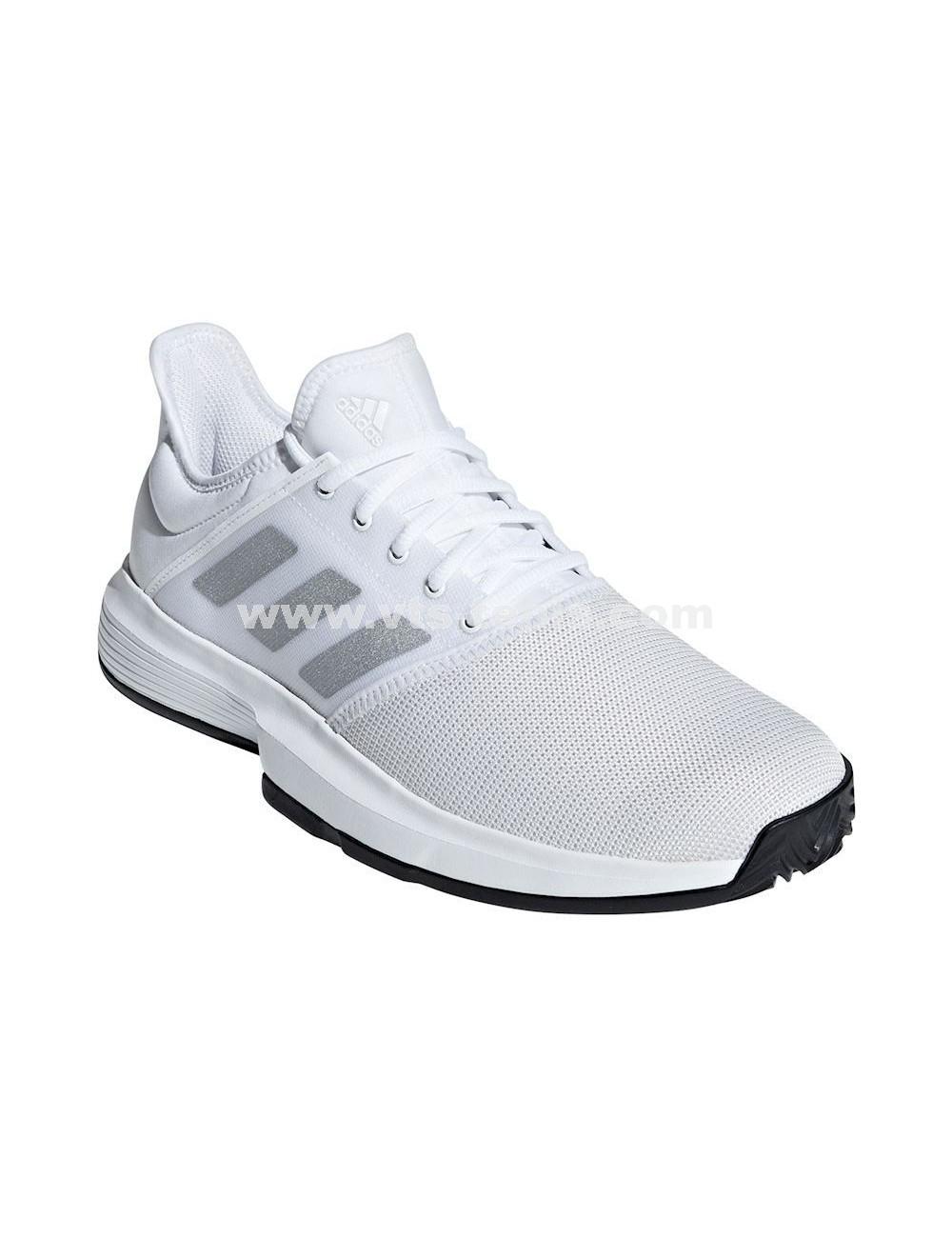 Game Colores Adidas M 44 combinados Talla eur Zapatillas Court Blancogris hombre Y76bfgy